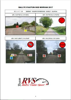 Création Roadbook VHRS